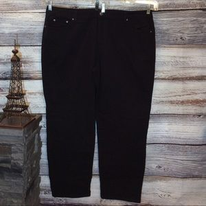 Just My Size Classic Fit Twill Jeans